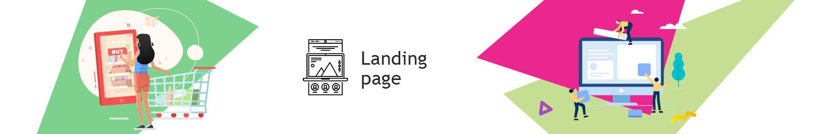 Landing Page. Замовити створення Landing Page для інтернет магазину