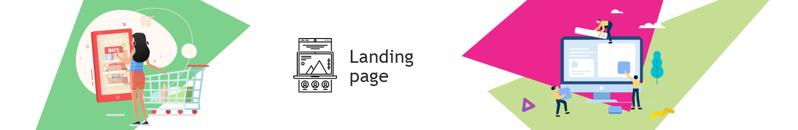 Landing Page. Order the creation of a Landing Page for an online store