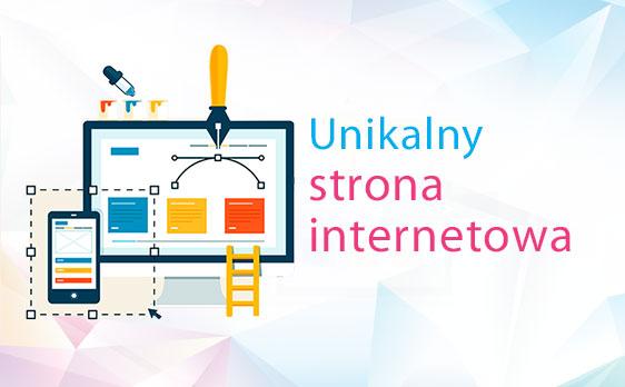 Zamów unikalną stronę internetową dla kreatywnych i indywidualnych osób.