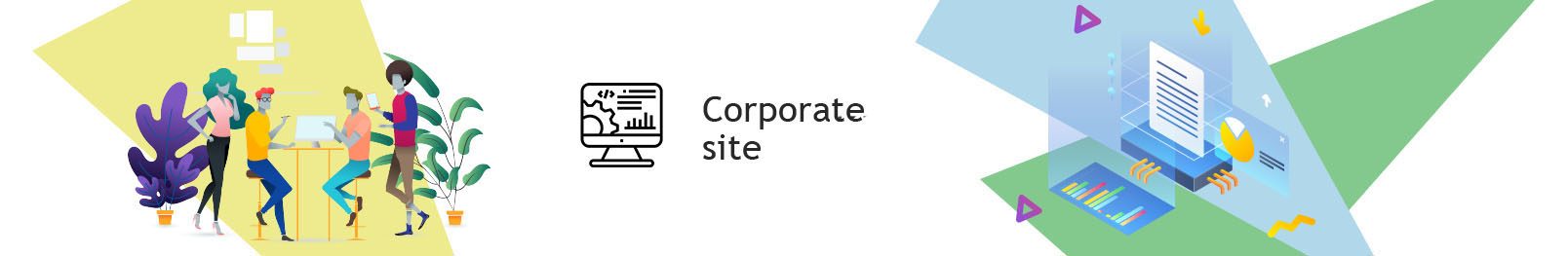 Corporate website. Order a corporate site on a turn-key basis.