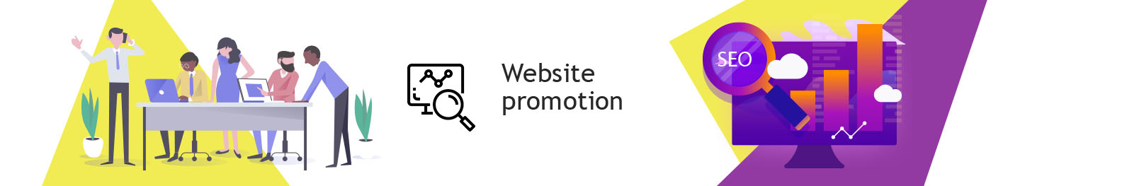 Order website promotion. Effective promotion of sites to order.