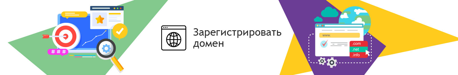 Регистрация доменного имени. Регистрация доменного имени Украина
