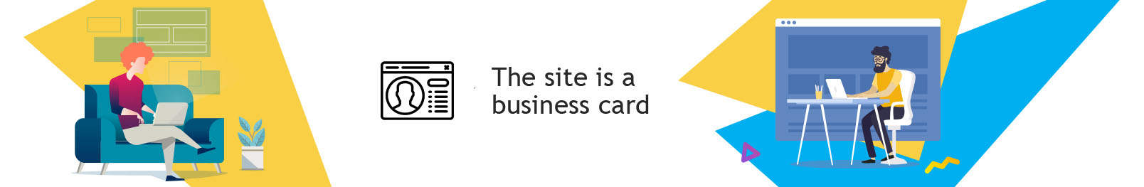 Order website business card Kiev. Order a business card site on a turn-key basis.